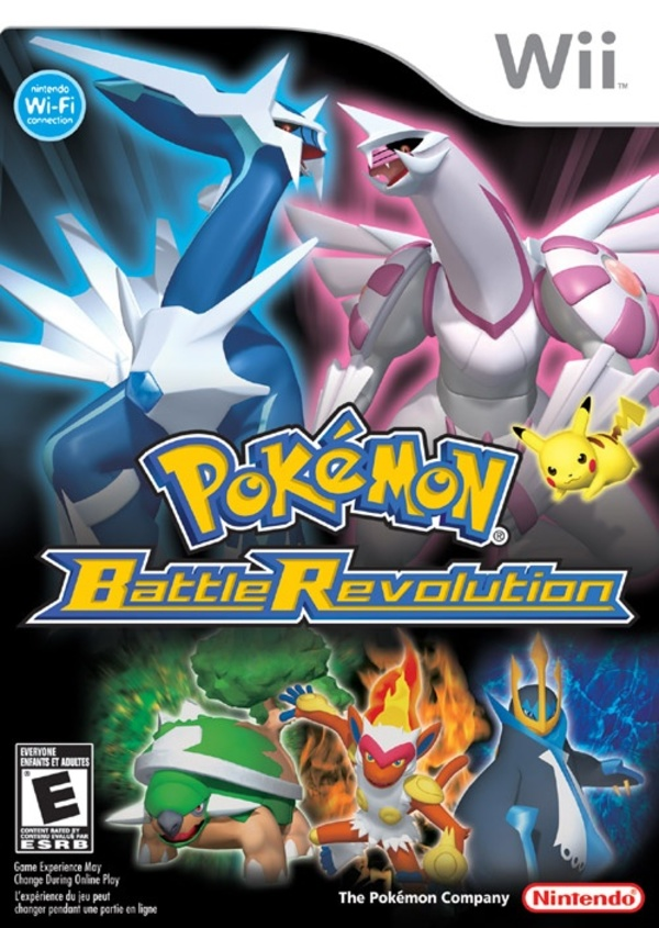 Cover zu Pokémon Battle Revolution