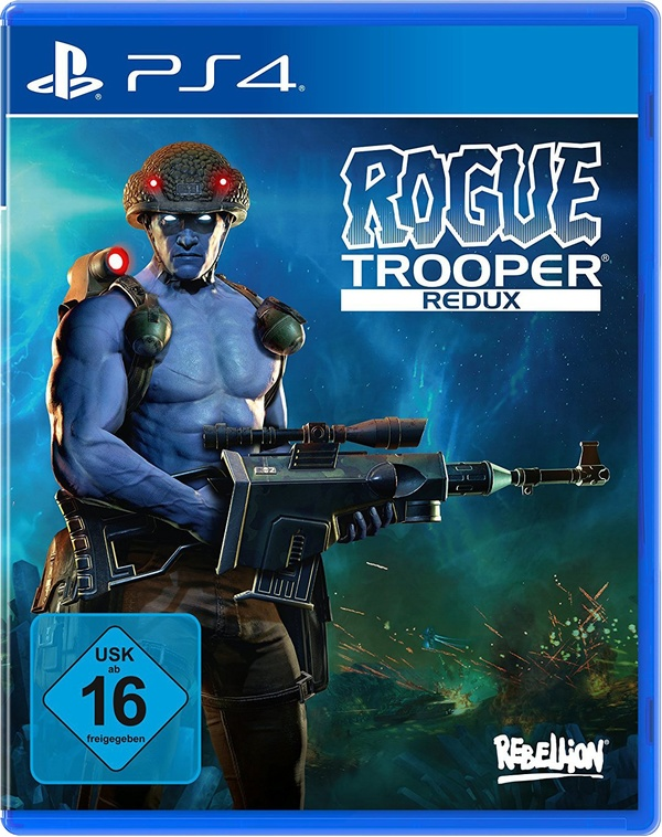 Cover zu Rogue Trooper Redux