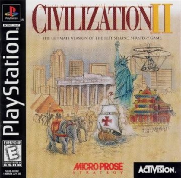 Cover zu Sid Meier's Civilization II