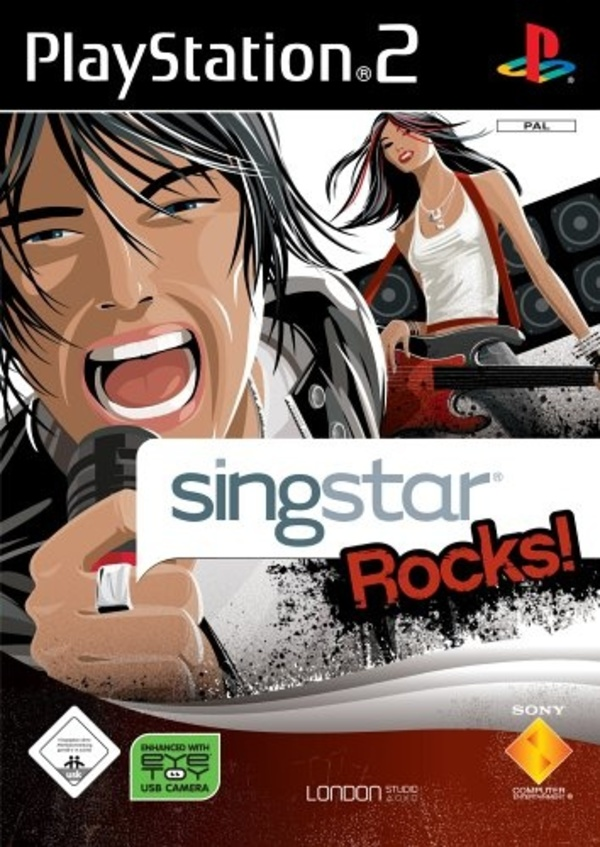 Cover zu SingStar Rocks!