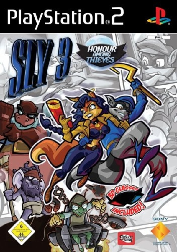 Cover zu Sly 3: Honor Among Thieves
