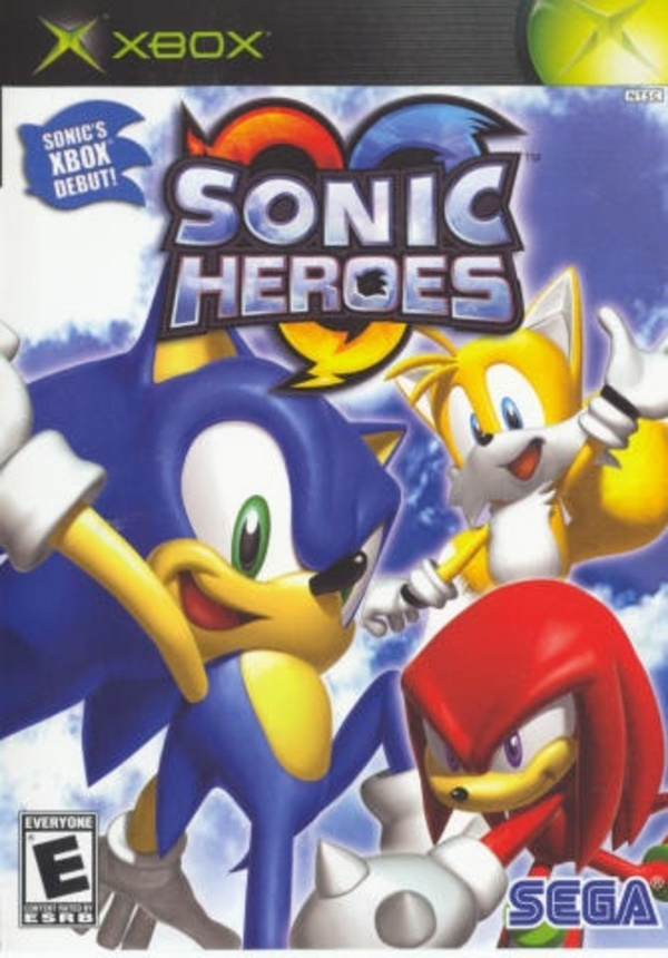 Cover zu Sonic Heroes