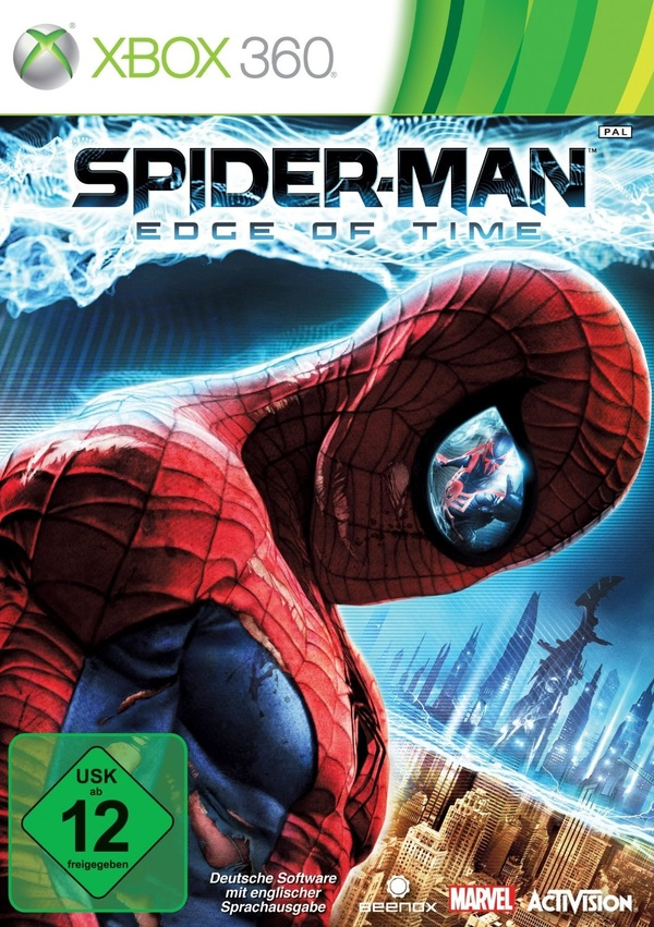 Cover zu Spider-Man: Edge of Time