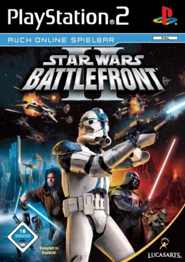 Cover zu Star Wars: Battlefront (2004)