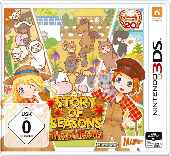 Cover zu Story of Seasons: Trio of Towns