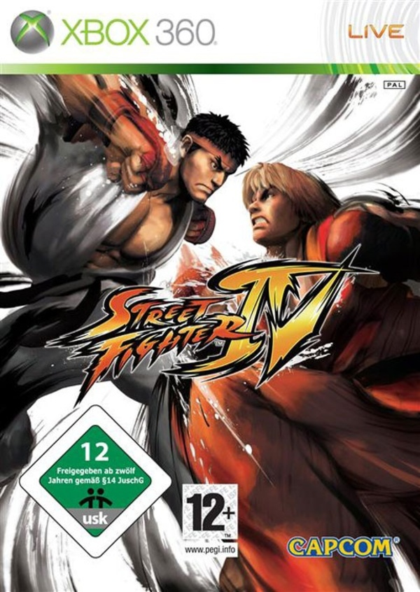 Cover zu Street Fighter IV