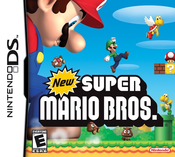 Cover zu New Super Mario Bros.