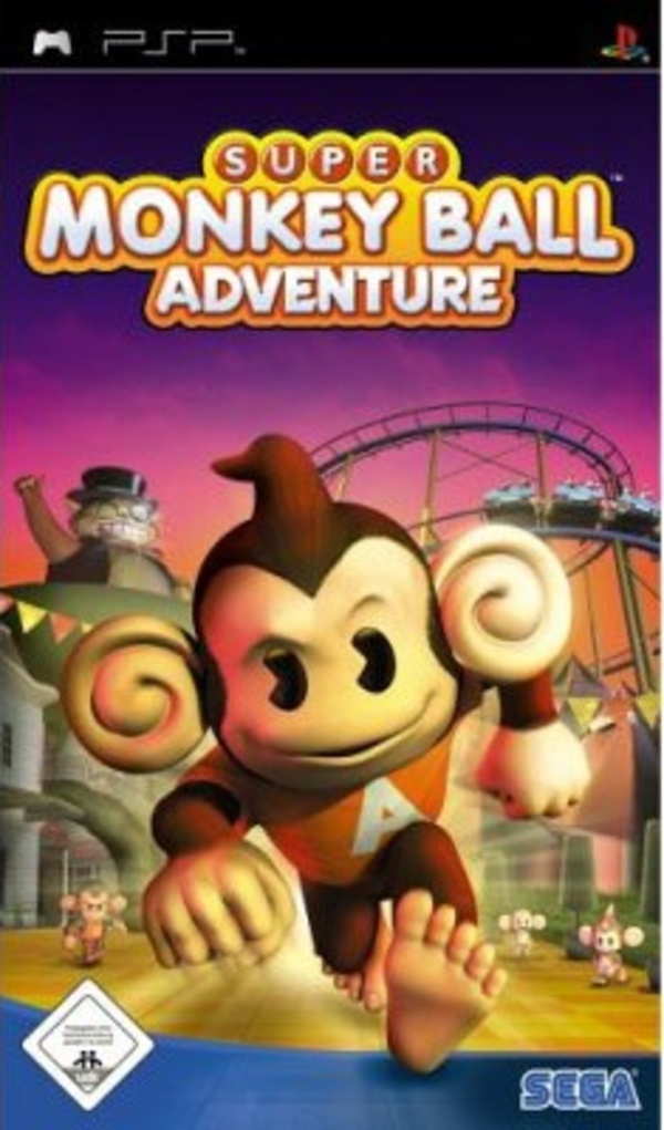 Cover zu Super Monkey Ball Adventure