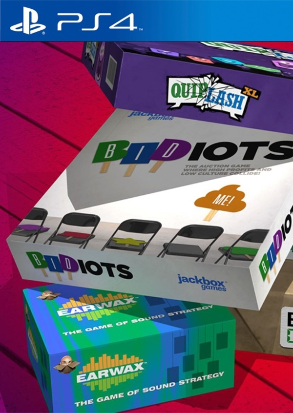 Cover zu The Jackbox Party Pack 2