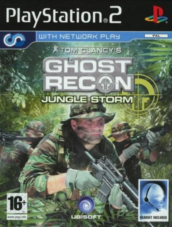 Cover zu Ghost Recon: Jungle Storm