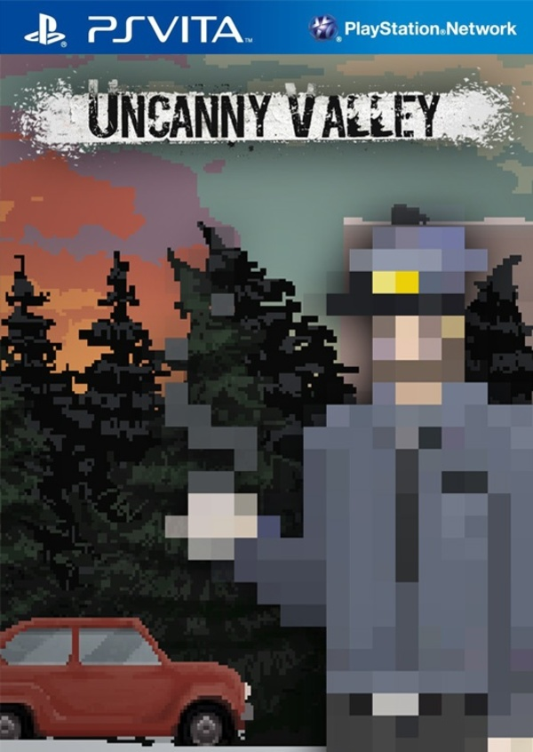 Cover zu Uncanny Valley