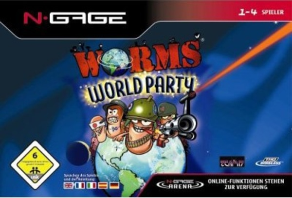 Cover zu Worms World Party