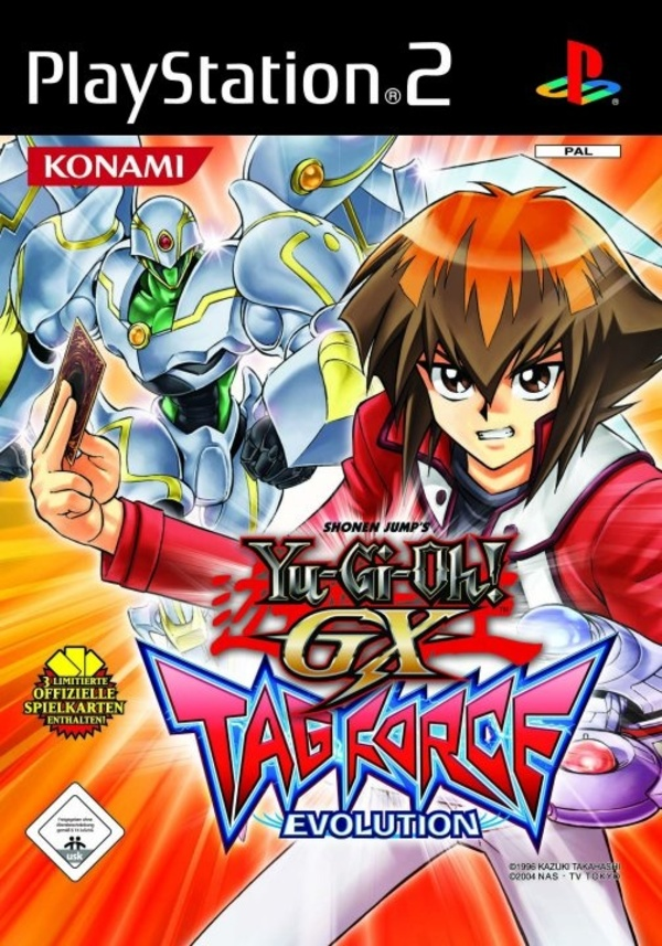Cover zu Yu-Gi-Oh! GX Tag Force Evolution