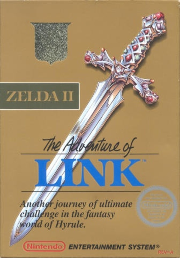 Cover zu Zelda II: The Adventure of Link