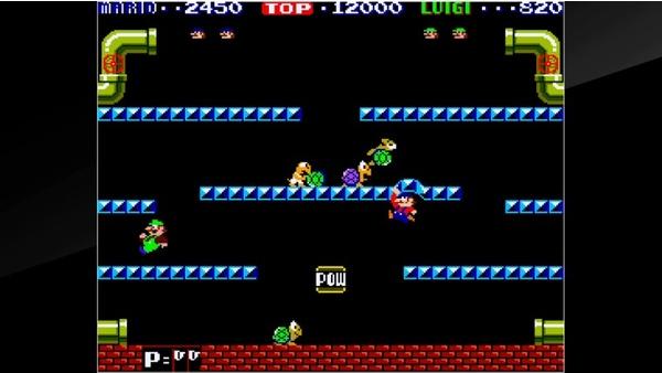 Screenshot zu Arcade Archives: Mario Bros. (Nintendo Switch) - Screenshots