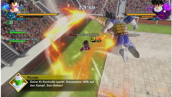 Screenshot zu Dragon Ball Xenoverse 2 (Nintendo Switch) - Screenshots der Nintendo Switch-Version