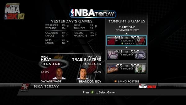 Screenshot zu NBA 2K10 360 PS3 (Xbox 360) -