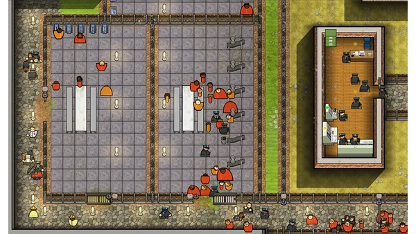 Screenshot zu Prison Architect (PS4) - Screenshots der Konsolen-Portierung
