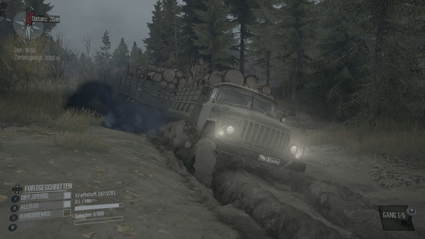Screenshot zu Spintires: Mud Runner (Xbox One) - Screenshots
