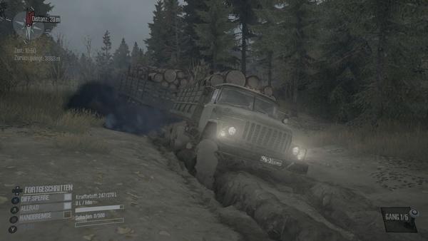 Screenshot zu Spintires: Mud Runner (PS4) - Screenshots