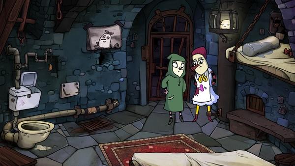 Screenshot zu The Inner World - Der letzte Windmönch (PS4) - Screenshots