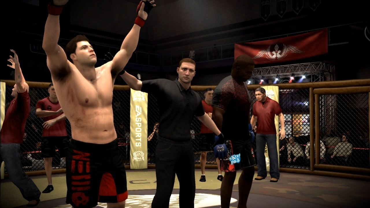 Fighting Ring Ea Sports