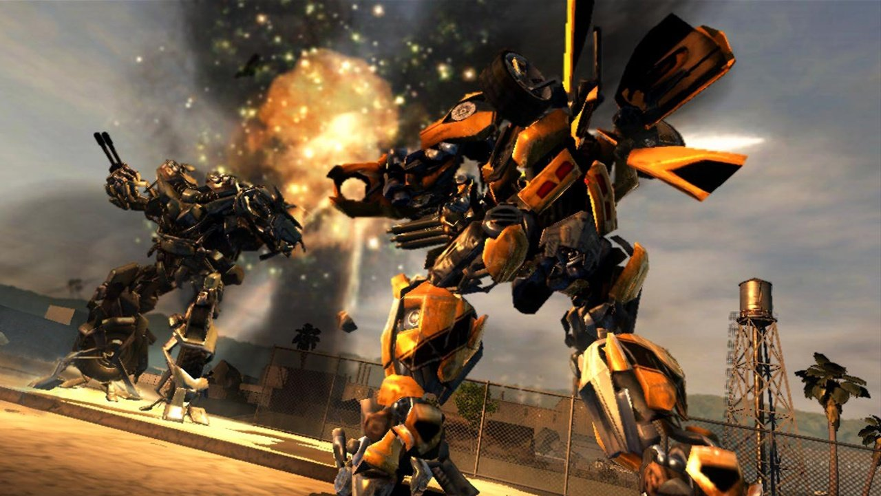 Transformers die rache trailer roboter im kampf