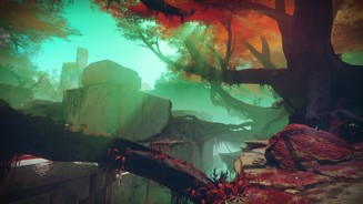 <b>Destiny 2</b><br>Screenshot der Spielumgebung