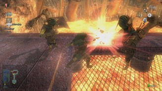 <b>The Legend of Zelda: Twilight Princess HD</b><br>Dank Lock-on-Funktion sind die Kämpfe kein Hexenwerk.