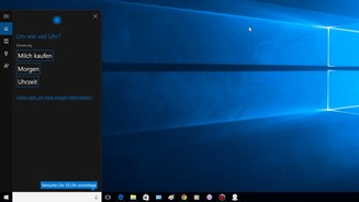 Windows 10 - Cortana Erinnerungen