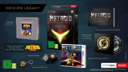 Metroid: Samus Returns - Schicke Collector's Edition für Europa enthüllt