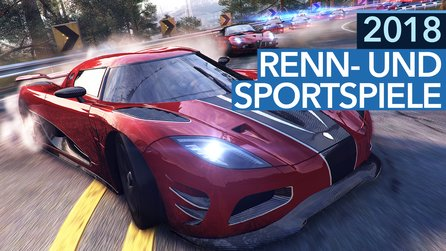 Renn- und Sportspiele 2018 - Video: 5 Highlights für PC, PS4, Xbox One & Nintendo Switch