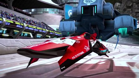 WipEout Omega Collection - Gameplay-Trailer stellt kostenloses PSVR-Update vor