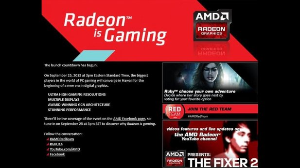 AMD Event 25. September