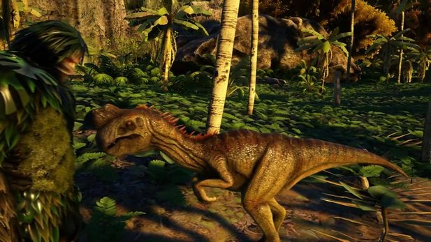 Ark: Survival Evolved - Trailer zum eierstehlenden Oviraptor