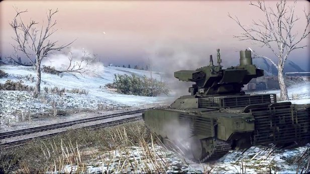 Armored Warfare - Trailer zu den Winterferien