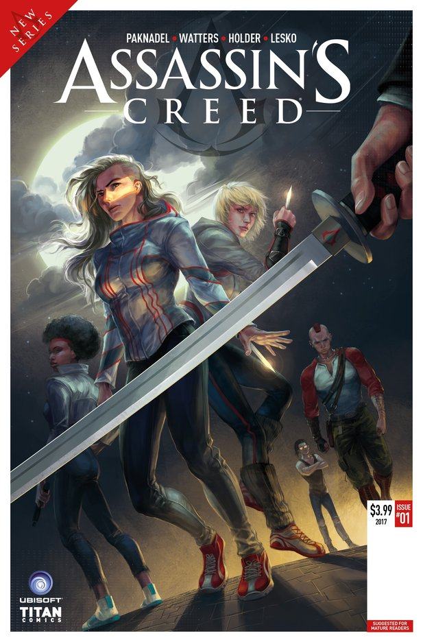Das Cover zum kommenden Assassin's Creed Comic.