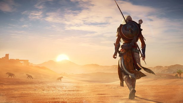 Wie schneidet Assassin's Creed: Origins im internationalen Wertungsspiegel ab?