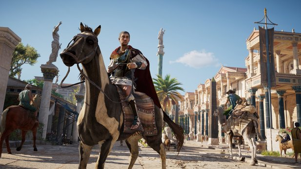 Assassin's Creed: Origins - Launch-Trailer stellt den Erkundungstour-DLC vor