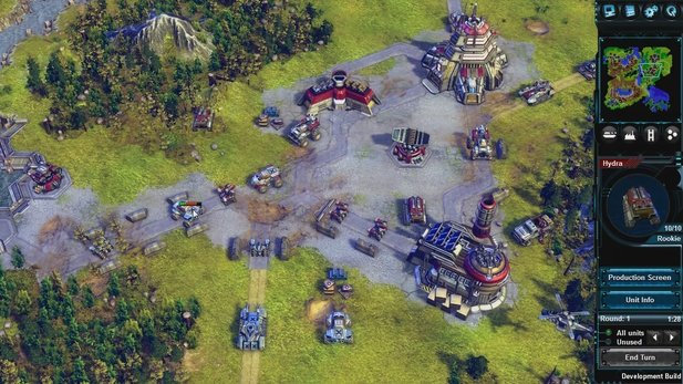 Battle Worlds: Kronos - Vorschau-Video aus der Alpha-Version