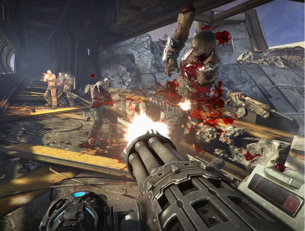 Blutsturm in Bulletstorm. Jedenfalls in der internationalen Version.