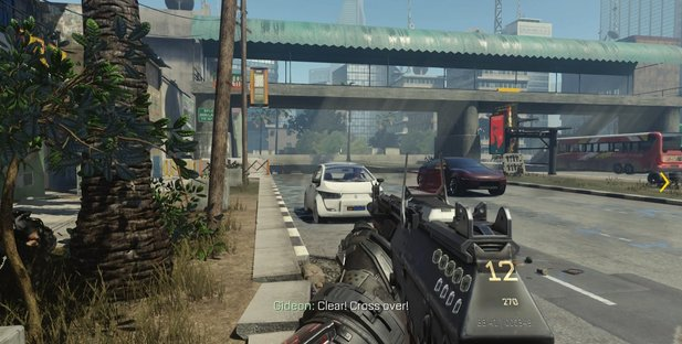 Conan O'Brien hat bei »Cluieless Gamer« den Shooter Call of Duty: Advanced Warfare getestet.
