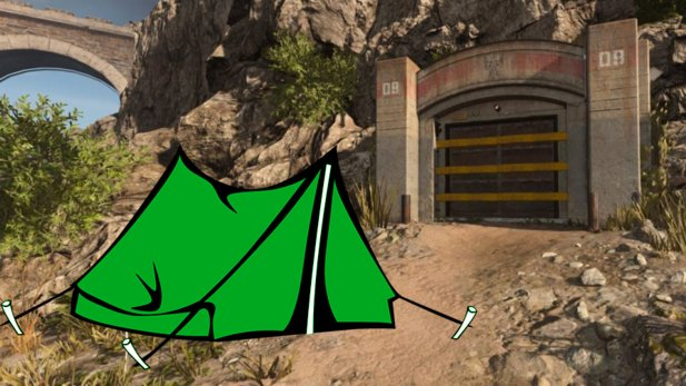 In CoD Warzone, the bunkers are now besieged by campers.