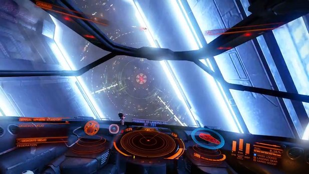 Elite: Dangerous - Gameplay-Video aus der Beta 2