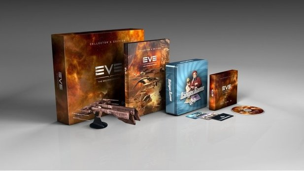 Die »Second Decade Collector's Edition« von EVE Online.