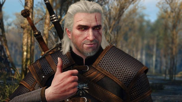 Geralt in jung