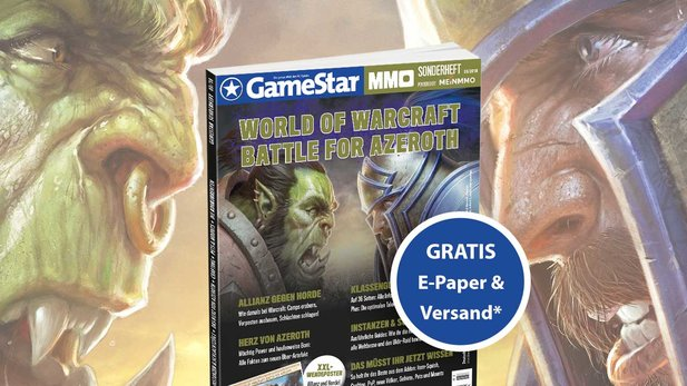 GameStar Sonderheft Battle for Azeroth - jetzt bestellen!