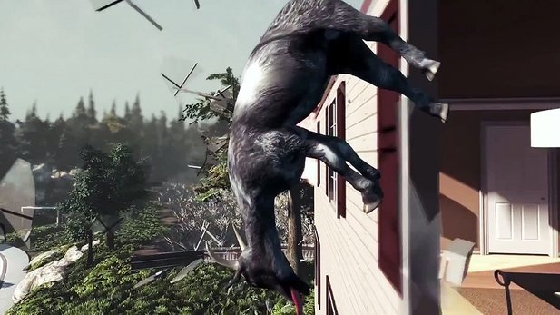 Goat Simulator - Launch-Trailer zum Spaß-Simulator