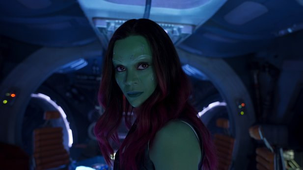 Hat Guardians of the Galaxy-Star Zoe Saldana den streng geheimen Titel zu Avengers 4 verraten?