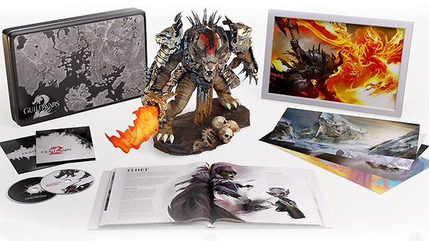 Guild Wars 2 - Collector's Edition im Boxenstopp
